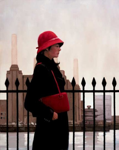 Jack vettriano, Tableau, peinture, Just an another day