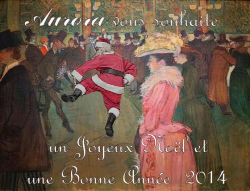 Joyeux Noël, Père Noël, Toulouse-Lautrec, parodie